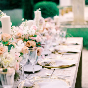 Intimate 'Al fresco' celebration in Provence