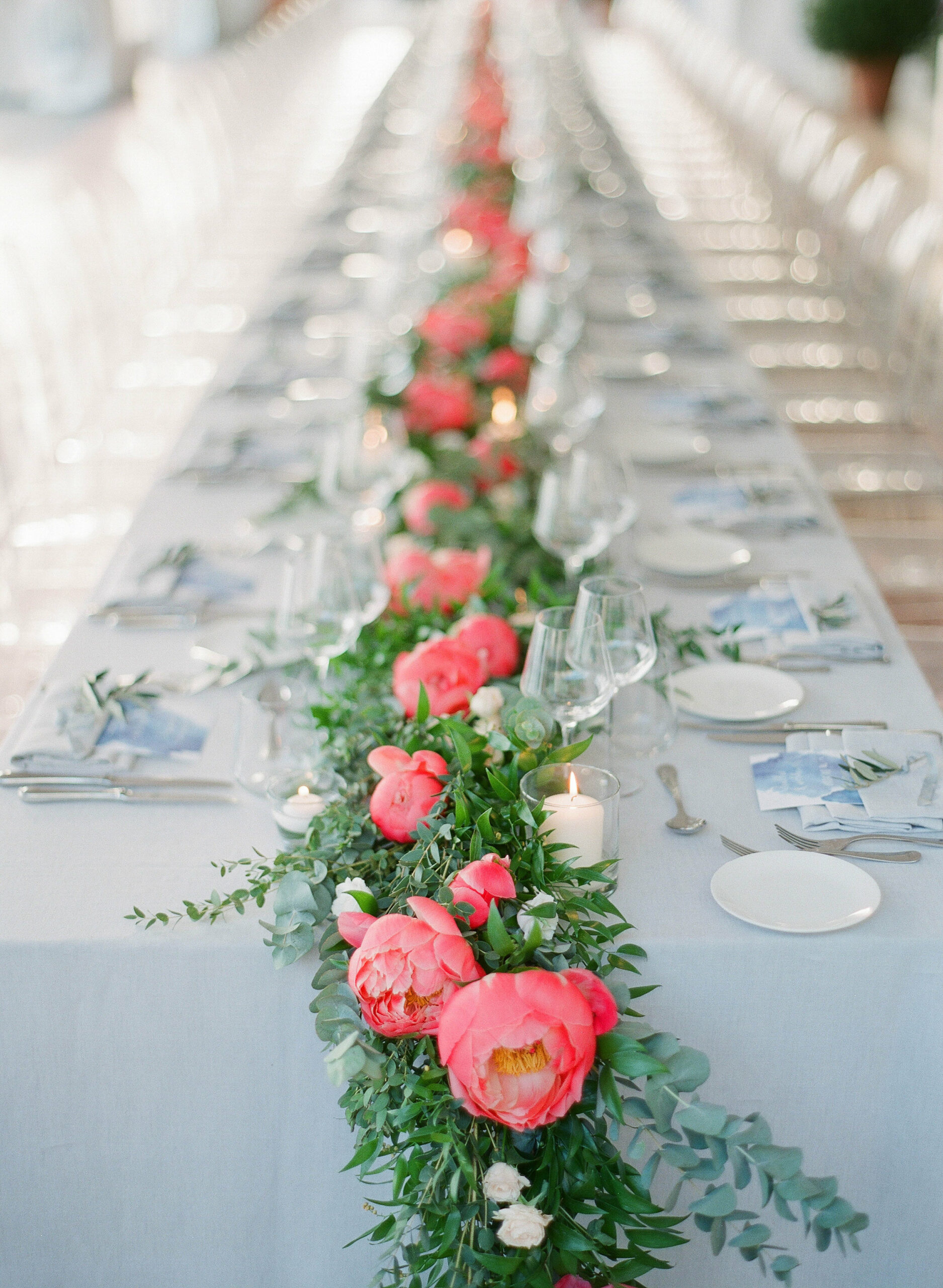 Seaside wedding at Belles Rives