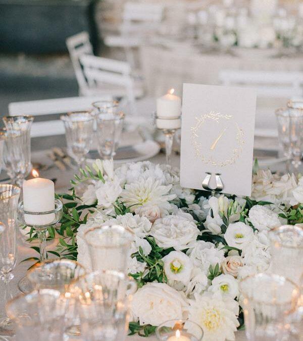 Wedding Design at Domaine de Patras